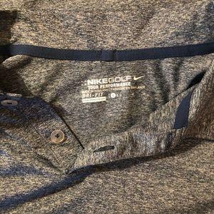Nike golf polo gray